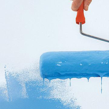 Разница в качестве красок для стен