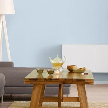 Синій для стін: відпочинок і спокій