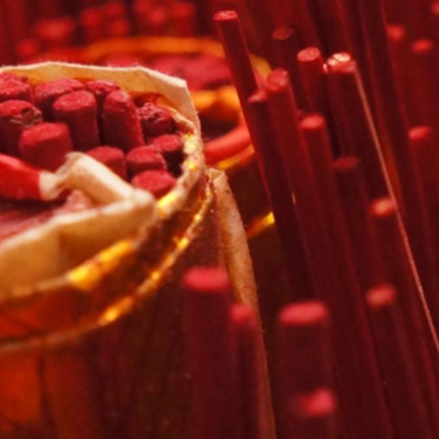 Східний червоний у інтер'єрі: свято для душі - Alpina