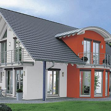 Советы по подбору цвета для фасада