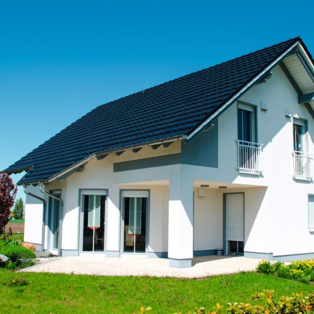 Зовнішній вигляд приватного будинку: як підібрати колір для фасаду та даху - Alpina